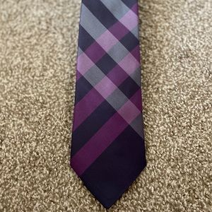 Burberry Clinton Checked Silk Tie
